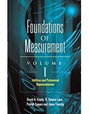 Foundations of Measurement Volume I: Additive and Polynomial Representations