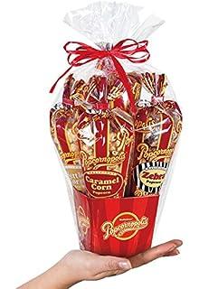 Amazon popcornopolis gourmet popcorn 5 cone gift basket classic popcornopolis mini 5 cone variety popcorn gift basket gluten free negle Gallery