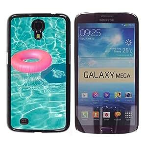 Cubierta protectora del caso de Shell Plástico    Samsung Galaxy Mega 6.3 I9200 SGH-i527    Water Lifesaver Summer Relax @XPTECH