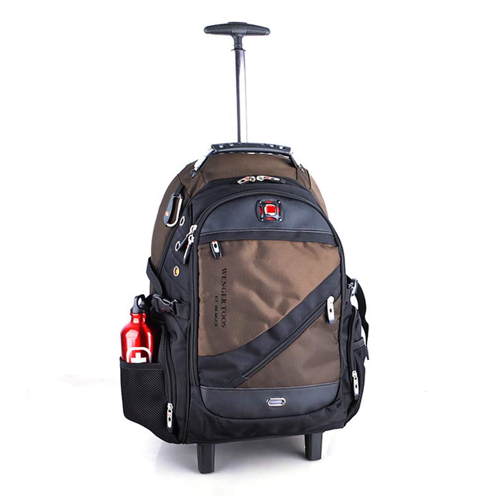 ノートパソコンのバックパック、大容量の防水防水バックパック、旅行や携帯用のハイキング用バックパック(サイズ:50 *33 * 23 cm),C B07TD9CBQ7 C