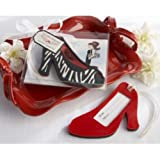 Red Shoe Luggage Tag
