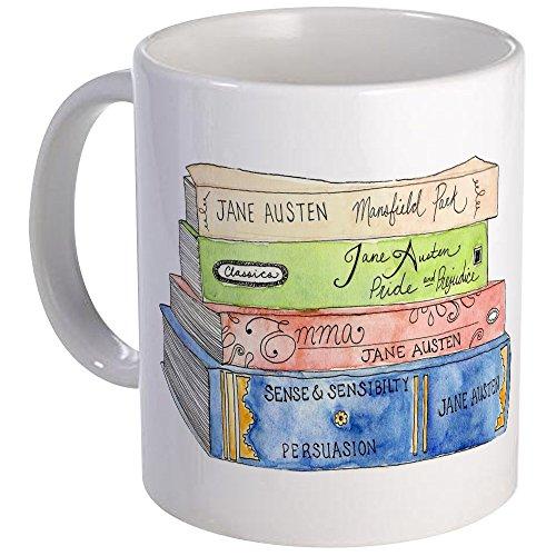 CafePress Jane Austen Books Mug
