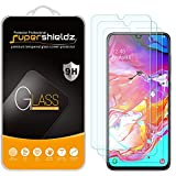 (3 Pack) Supershieldz for Samsung Galaxy A70 Tempered Glass Screen Protector, Anti Scratch, Bubble Free