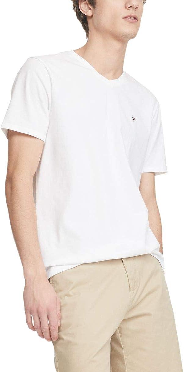 Tommy Hilfiger Denim Men's Original V-Neck Short Sleeve T-Shirt