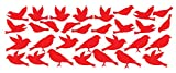 Cheap Bird Wall Decal Stickers Peel and Stick Decor Flying and Sitting Removable and Reusable Vinyl Wall Art Decor Addon For large Tree Decals #1387 (Large, Custom- Contact Us)