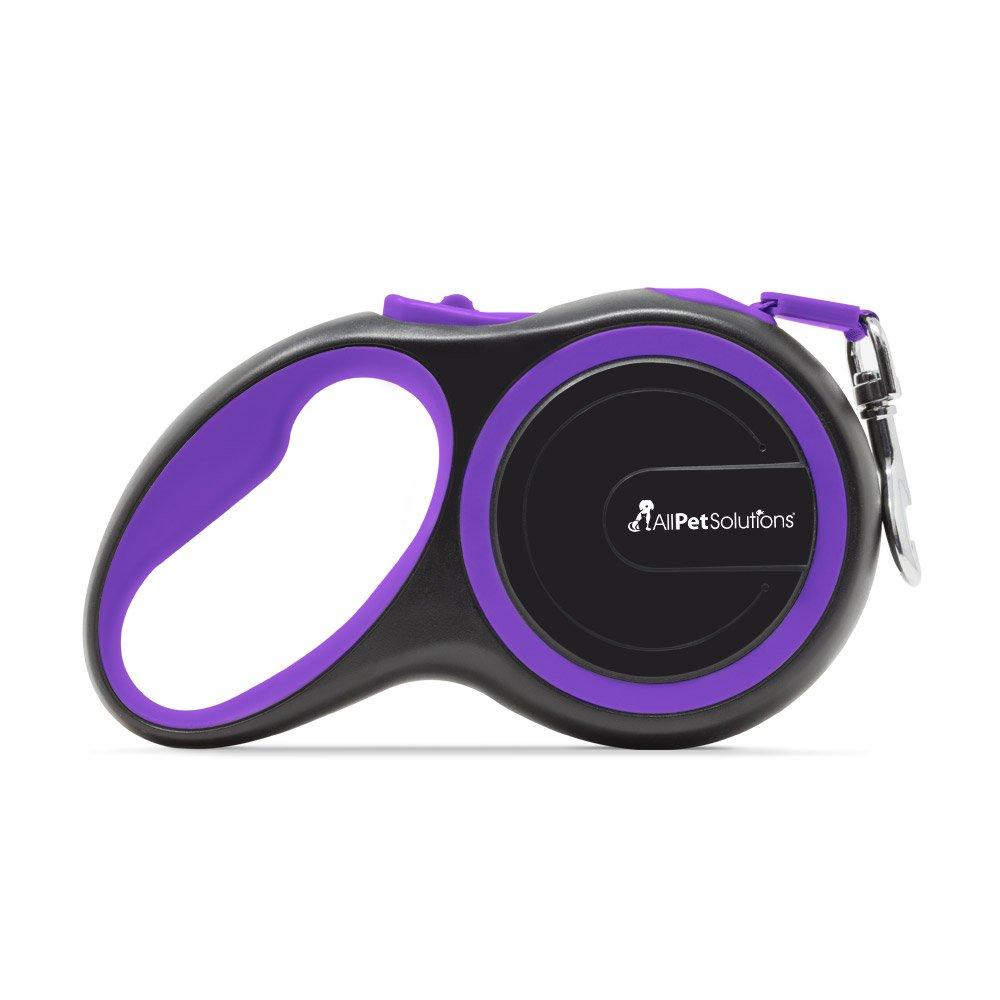 Azul All Pet Solutions Correa Extensible retr/áctil para Perro Grande 50 kg