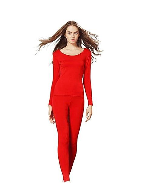 Ducomi® Conjunto de ropa interior térmica o Conjunto de Pijama (Talla: Unica -