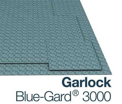 Garlock Blue-Gard 3000 - 1/8'' Thick - 30'' x 30'' Sheet by Equalseal