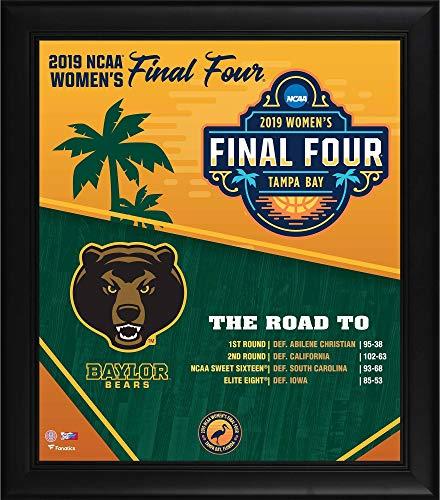 Final Baylor Lady Bears Basketball - Baylor Bears Framed 15