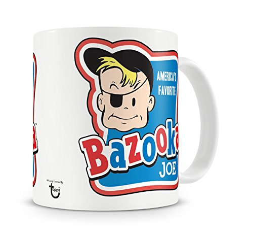 Bazooka Mug Joe Official White ()