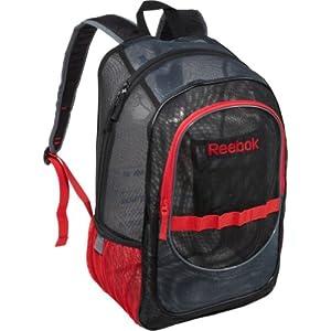 Amazon.com: Large Mesh Backpack Color: Black / Dark Grey