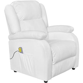 Vidaxl Massagesessel Fernsehsessel Relaxsessel Tv Sessel Kunstleder