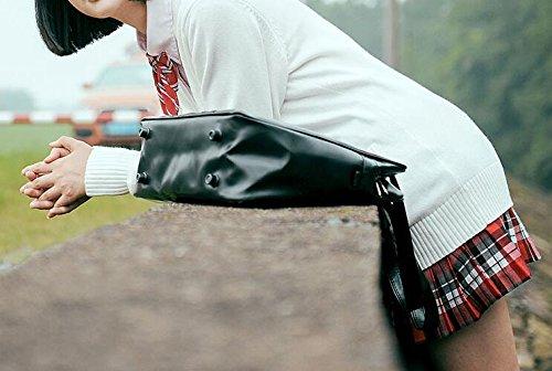 YOKU(ヨク) Vネック カーディガン 無地 ニット スクールセーター 学生服 制服 オフィス セーター コットン トップス スクールカーディガン カジュアル 男女兼用