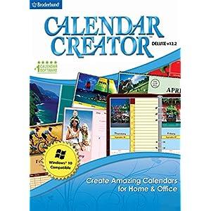 Calendar Creator Deluxe v12.2 [PC Download]