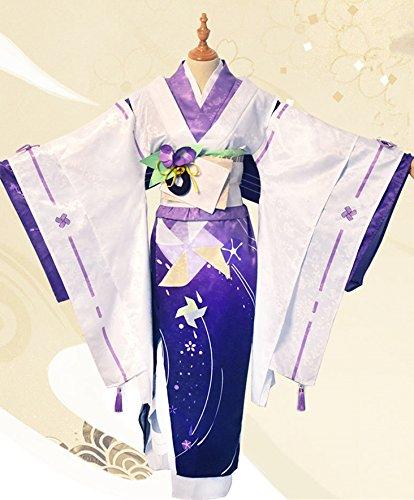 コスプレ ゲーム 陰陽師 衣装 夏祭り スキン 八百比丘尼 cosplay