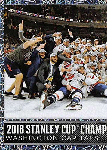 2018-19 Panini NHL Stickers Hockey #567 Washington Capitals Washington Capitals Celebration