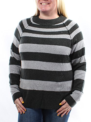 Free People Womens Striped Bubble Wool-Blend Sweater, M (Free People Wool Sweater)