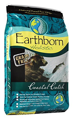 Earthborn Holistic Coastal Catch Grain-Free Dry Dog Food, 28-Pound Bag by Earthborn Holistic