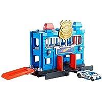 Mattel Hot Wheels-City Escape de la estación de policía, pistas de coches de juguetes niños +4 años, multicolor FNB00…