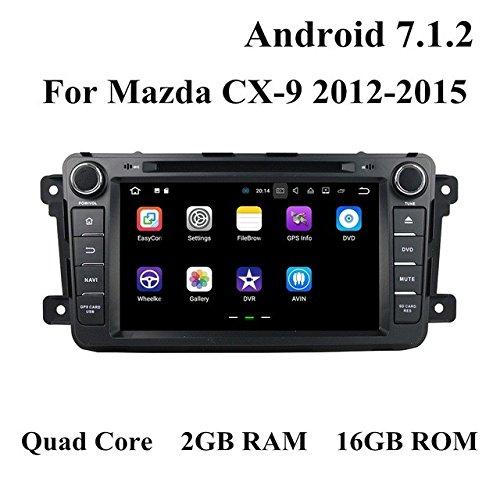 BoCID 2GB RAM Quad Core 2 din 7'' Android 7.1 Car DVD Player for Mazda CX-9 CX 9 With Car Radio GPS WIFI Bluetooth 16GB ROM USB DVR by BoCID (Image #1)