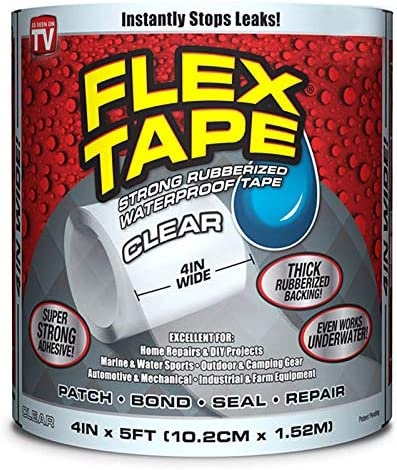 Shop-Story Transparent Flex Tape The Ultra-Resistant Waterproof Adhesive Tape