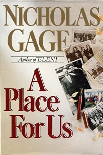 Book Place for Us by NICHOLAS GAGE (1990-05-03)