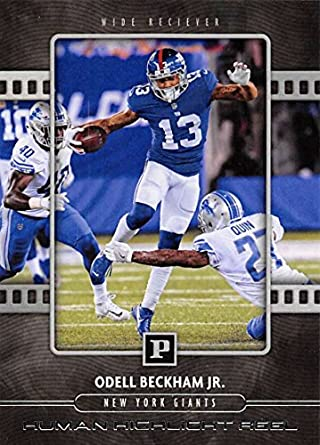 350466a20 2018 Panini Human Highlight Reel #5 Odell Beckham Jr. NY Giants NFL  Football Card