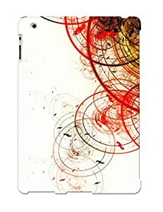 CBLEtd-5305-dtWeZ Crooningrose Awesome Case Cover Compatible With Ipad 2/3/4 - Abstract Circles wangjiang maoyi