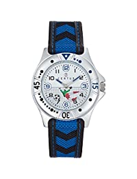 Certus Paris Kids' 647473 Black and Blue Nubuck Bracelet Watch