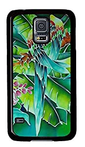Samsung Galaxy S5 carry cases Parrot 2 Art PC Black Custom Samsung Galaxy S5 Case Cover