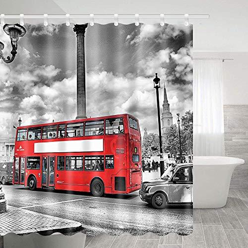 SZDR Shower Curtain Bath Room Fabric Shower Curtain 69