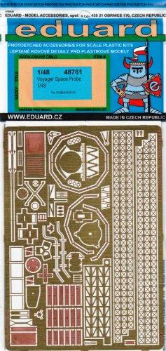 エデュアルド 1/48 ボイジャースペースプローブ ハセガワ用 エッチングパーツ EDU48761