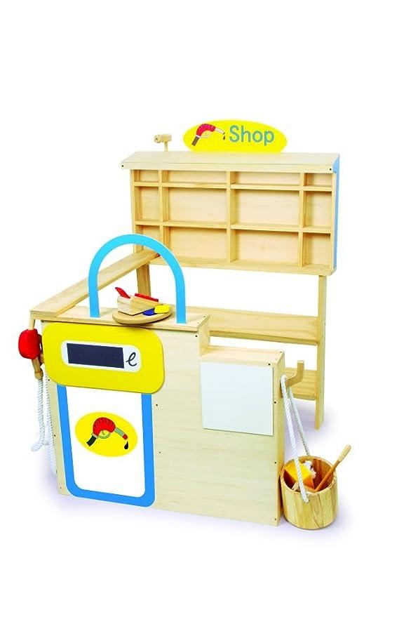 small foot design Kaufladen Tankstelle - Spiel Tankstelle