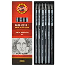 Koh-i-noor Progresso - Woodless Graphite Pencils Set. 8915