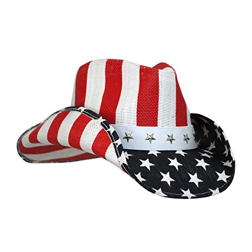 peter-grimm-unisex-cowboy-hat-red-white-blue-one-size