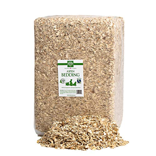 Small Pet Select Jumbo Aspen Bedding 226 L (2 Pack, 113 L Each)