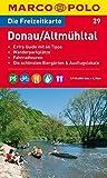 MARCO POLO Freizeitkarte Donau, Altmühltal 1:110.000 (MARCO POLO Freizeitkarten)
