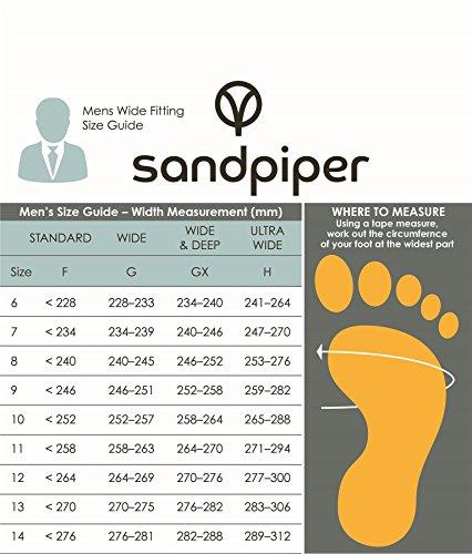 Sandpiper  Tom, Mocassins pour homme - noir - noir,