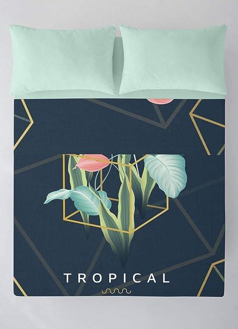 NATURALS Juego de sábanas Tropical Cama 150: Amazon.es: Hogar