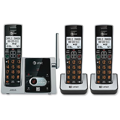 At&t Dect6.0 3 Handset Cordless Answering System