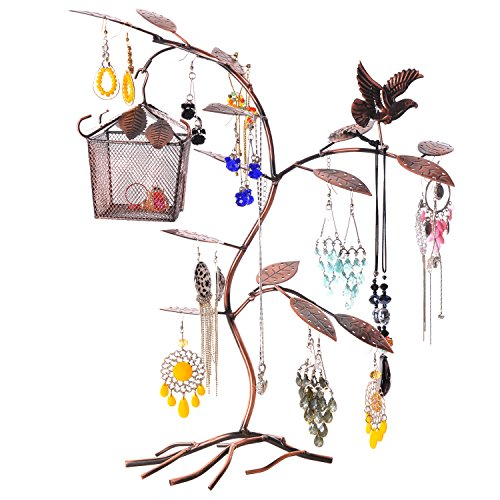 Birdhouse Earring Necklace Bracelet Organizer