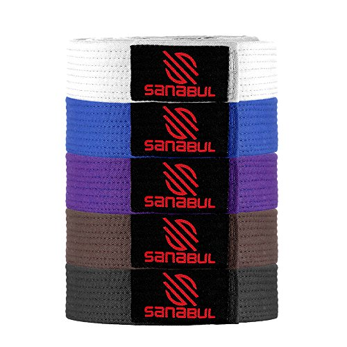 Blue Training Belt - Sanabul BJJ BELT BLUE A1