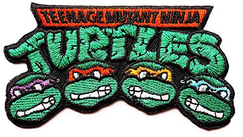 Teenage Mutant Ninja Turtles Patches Superhero Marvel Comics Children Kids Cartoon Patch Applique for Clothes Great as Happy Birthday -