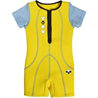 ARENA Friends Warmsuit Protection Gear, Unisex niños, Yellow, 3-4Y