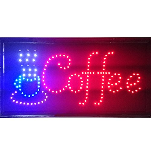 Led Open Signs Decor for Business Mart Shop Store Bar Cafe Now Open Sign Display On/Off Switch + Chain (19