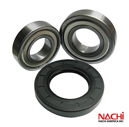Nachi Front Load Samsung Washer Tub Bearing and Seal Kit Fits Tub DC97-12957A (5 year replacement warranty and full HD