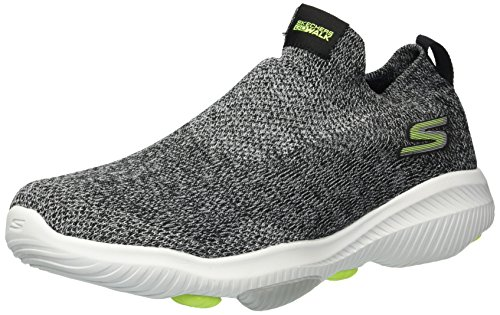 Skechers Men's Go Walk Revolution Ultra Jolt Sneaker Black/Lime discount ebay CN21l