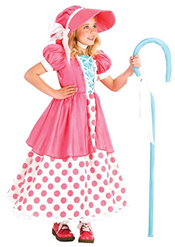 Princess Paradise Polka Dot Bo Peep Costume, Multicolor, Small/6 (Bo Peep Costume For Adults)