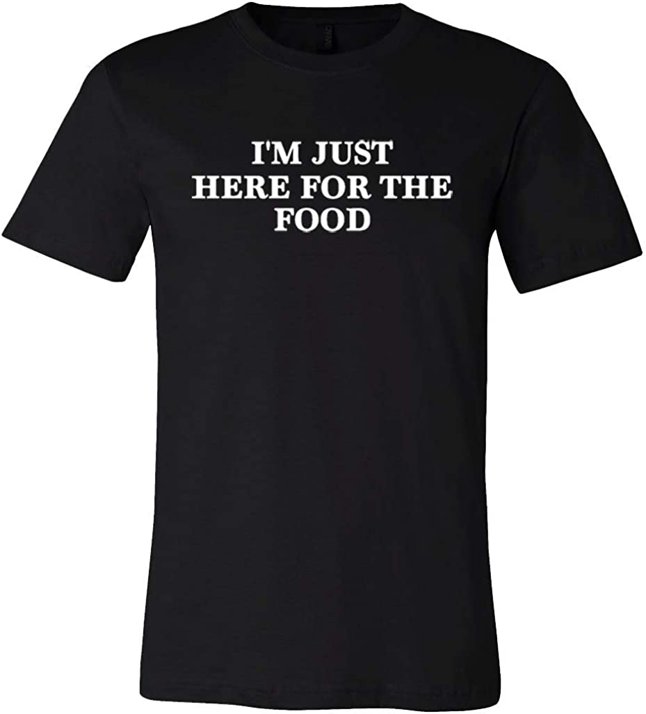 Davina I'm Just Here for The Food Funny Tee Men's T-Shirts