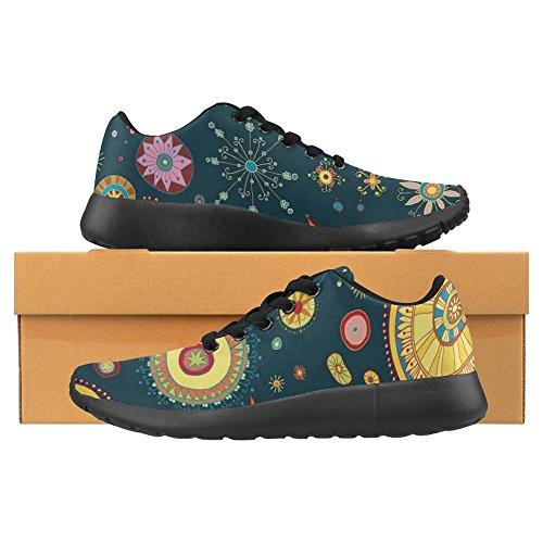 InterestPrint Womens Jogging Running Sneaker Lightweight Go Easy Walking Casual Comfort Sports Running Shoes Multi 14 YY28q10l